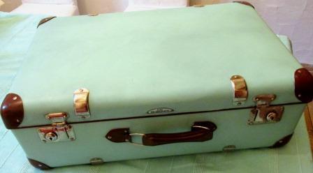 Mein neuer Schmuckkoffer in türkis