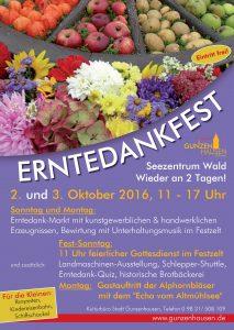 Erntedankfest Gunzenhausen